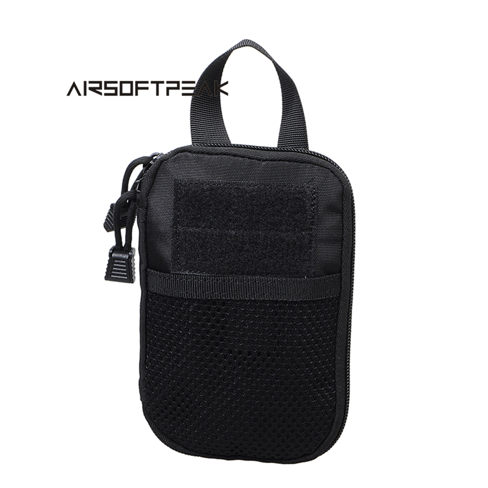 AIRSOFTPEAK Military Tactical Waist Hunting Bags 1000D Outdoor Multifunctional EDC Molle Bag Durable Belt Pouch Magazine Pocket airsoft tactical bag 600d nylon edc bag military molle small utility pouch waterproof magazine outdoor hunting bags waist bag