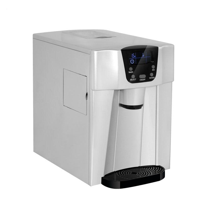 EU/AU/UK Multifunzionale 220 V Elettrico Automatico Ice Maker LCD macchina per Il Ghiaccio Professionale Macchina a Bere Ice Cube Ice acqua
