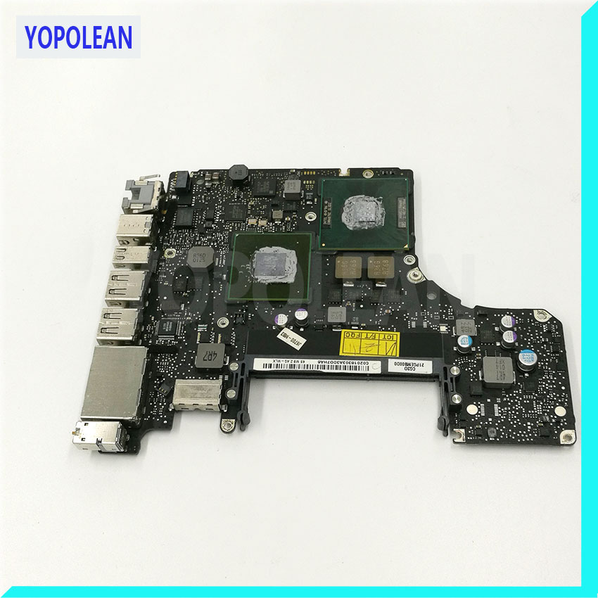 For Macbook Pro A1278 Motherboard Logic Board 2.4 GHz Core 2 Duo P8600 820 2879 B 661 5559