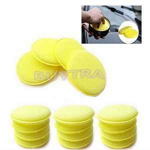 12 st Zorg Zorg Waxen Poolse Wax Foam Sponge Applicator Pads Voor Clean Auto Voertuig