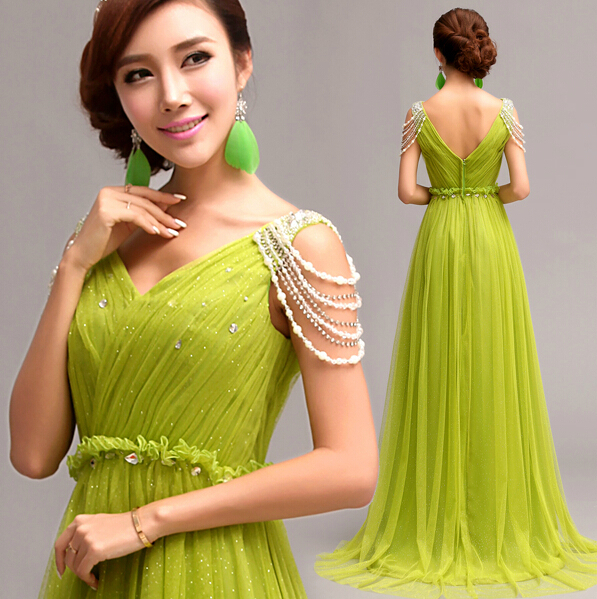 Fashionable Light Green Wedding Dress Vestidos The Princess Bride Beautiful Women Backess Gauze