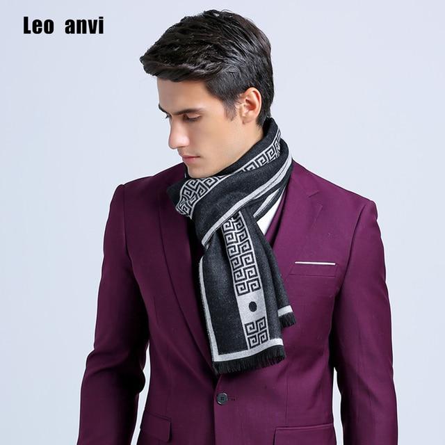 2017 nueva carta marca de lujo de los hombres Bufanda de Cachemira de seda de Negocios Mantón de la bufanda caliente de la buena calidad 180*30 cm Bufandas de invierno Cálido hombres