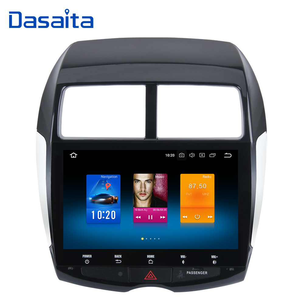 Android 8.0 Octa Core 4GB RAM + 32GB ROM GPS Multimedia Player with 10.2 HD Touch Screen for Mitsubishi ASX 2010 2011 2012