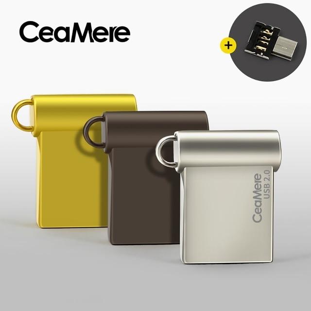 Ceamere CD06 USB Flash napęd 4GB/8GB/16GB/32GB/64GB Pen Drive Pendrive USB 2.0 dysk Flash Pendrive dysk USB 1GB 2GB