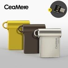Ceamere CD06 Đèn LED CỔNG USB 4GB/8GB/16GB/32GB/64GB Bút Ổ USB 2.0 Đèn Led Thẻ Nhớ USB Đĩa 1GB 2GB