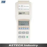 Tes 32a ручной Батарея Ёмкость метр тестер 0 500ah с DCV измерение сопротивления RS232