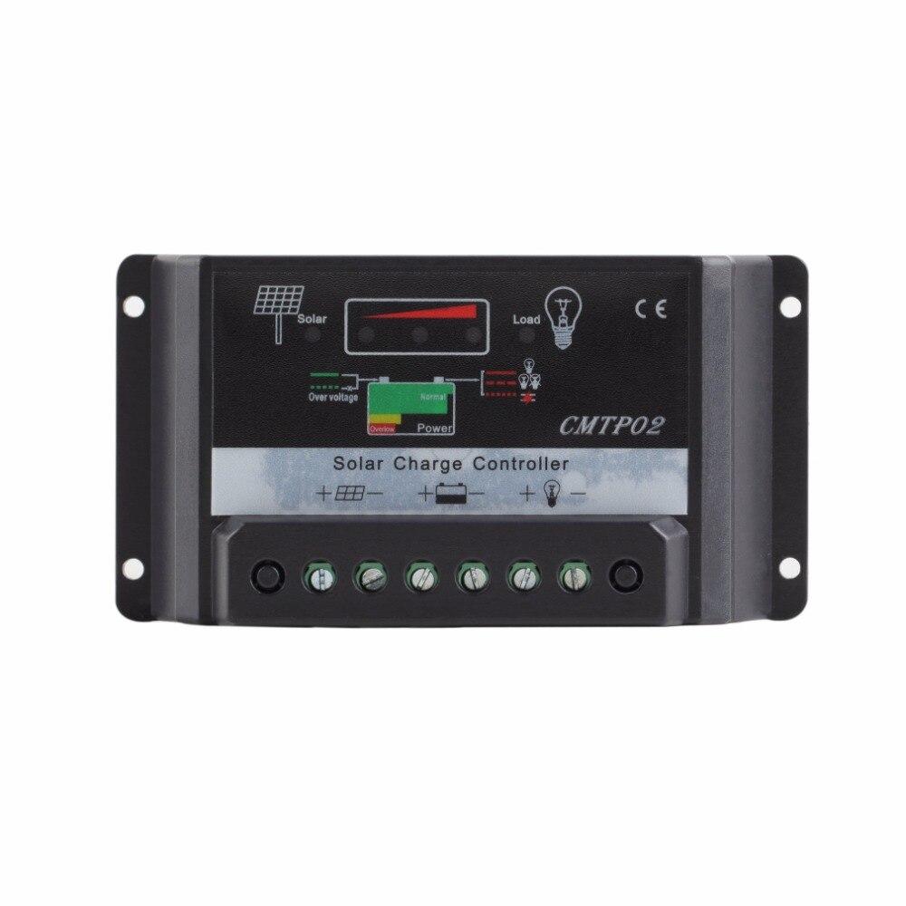 Panel Battery 1pcs 30A 12V/24V Regulator PWM Solar Charge Controller LED Screen Top Sale