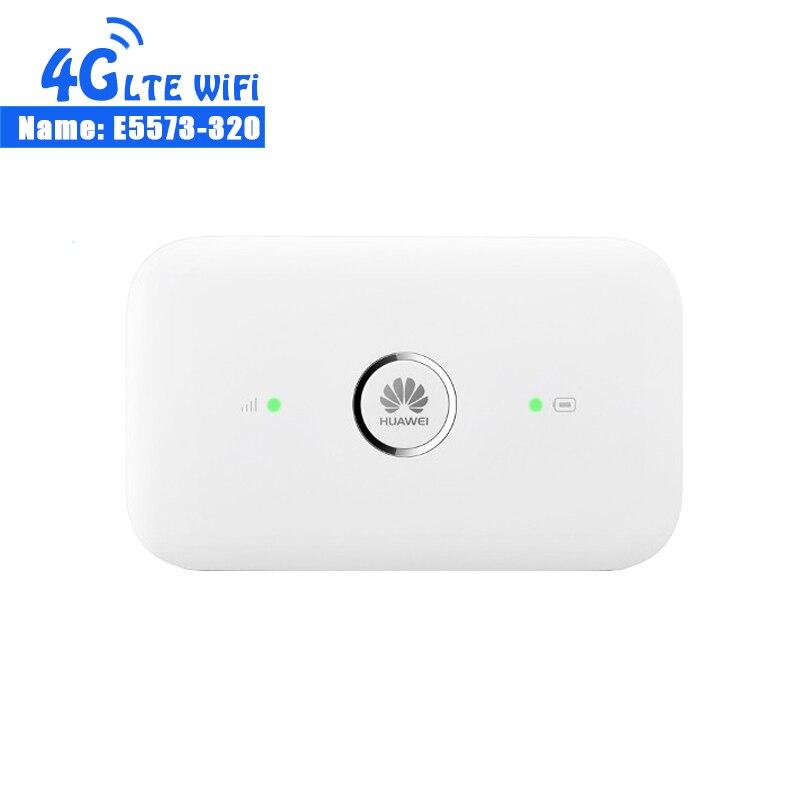 Huawei E5573-320 CAT4 150 M 4G Poche Wifi Routeurs 4G LTE Mifi Routeur Mobile e5573 + 2 pièces Antenne