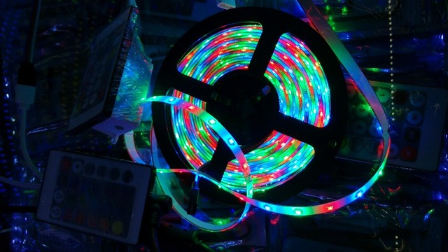LED strip rgb 2835=3528 RGB Red Green Blue DC12V 5M 60led=1 meter 5 meter=1roll Flexible Glue waterproof IP65 led 2835 strip RGB