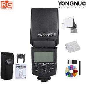 Image 1 - YONGNUO YN 568EX YN568EX III III אלחוטי TTL HSS פלאש Speedlite עבור DSLR Canon ניקון מצלמה תואם YN600EX RT השני YN568EXII
