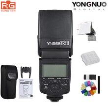 YONGNUO YN568EX III YN 568EX III TTL Flash HSS inalámbrico Speedlite para cámara Canon Nikon DSLR Compatible YN600EX RT II YN568EXII