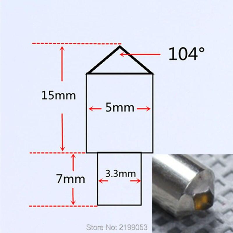 diamond engrave carve tool diamond tipped stone engraving needle bits engraver dremel engraving bit 20pcs