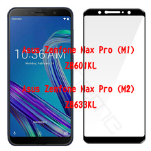 5D Full Cover Screen Protector Film For Asus ZenFone Max Pro M2 ZB631KL ZB633KL Tempered Glass For Zenfone Max Pro (M1) ZB601KL цены