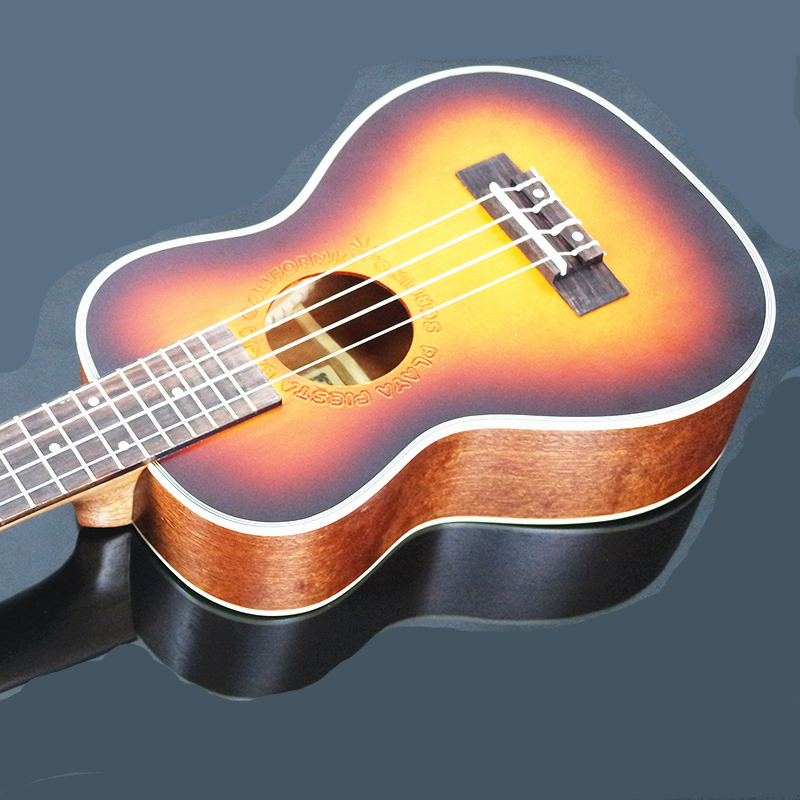 26 inch Rosewood Fingerboard Ukulele Tenor Hawaiian ukelele Acoustic guitar Sunset color Musical Stringed Instruments guitarra 26 inchtenor ukulele guitar handcraft made of mahogany samll stringed guitarra ukelele hawaii uke musical instrument free bag