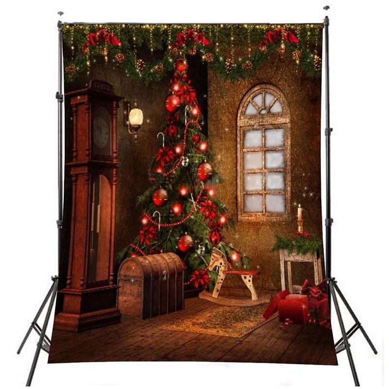 Vinyl Christmas Photography Backdrop Photo Background Lanterns