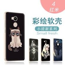 For Xiaomi Redmi 4 Case Silicone Phone Back Xiami Redmi4 Pro Case 32gb Transparent Cover Xaomi xiomi xiaomi redmi 4 prime