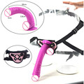 Curved animal dildo removable strapon dildo sex toys for women strap on penis adjustable belt snake dildo with suction cup