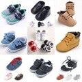 TongYouYuan Recién Nacido Bebé Zapatos de Los Muchachos Primeros Caminante Bebe Infantil Sneakers Guinga Zapatos Deportivos Zapatos del Pesebre Del Niño Botas