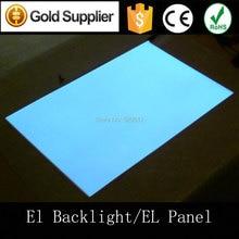 A2(42*59.7cm)Illuminator Electroluminescence Backlight EL backlight sheet EL panel with AC110-240V inverter by Express shipping