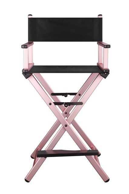 15 Foldable Director Chair Aluminum Lounge Folding Canvas Beach Bar Office Makeup
