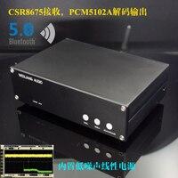 Breeze Audio 2019 New SNY 30A CSR8675 Bluetooth 5.0 Receiver Digital Audio Decoder DAC With Analog Input Linear Power Supply