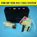 1 компл. для HP 950 951 Ciss для HP Officejet 8100 8600 8625 плоттера с обновленной чипом арк