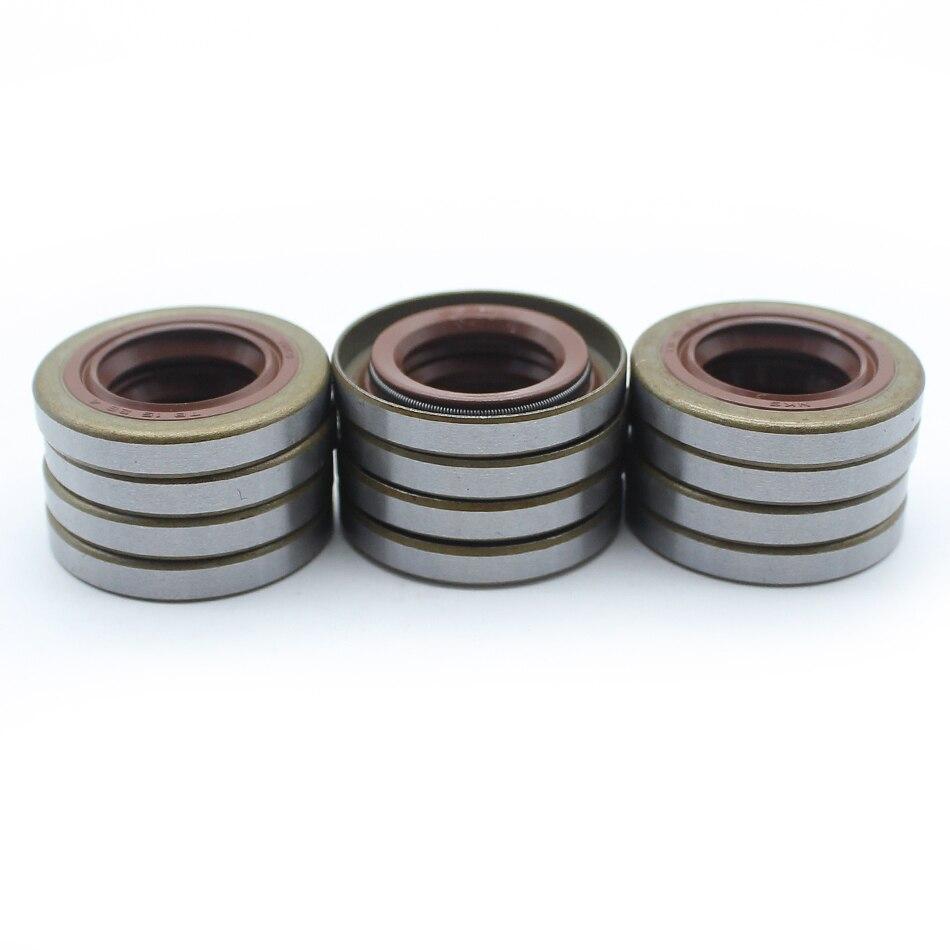 12Pcs/lot Crankshaft Oil Seals For HUSQVARNA 51 55 254 257 262 357 359 357XP Chain Saw Chainsaw Parts 505275719, 505 27 57 19