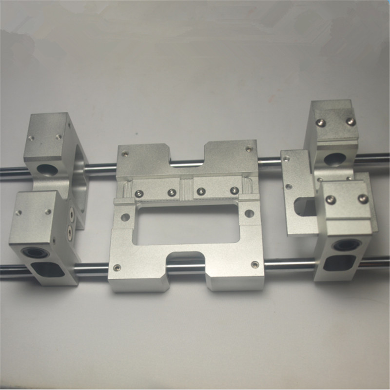 3D части принтера Алюминий оси X металла экструдер каретки + Y осевая каретка комплект для CTC репликатора Flashforge обновления H20