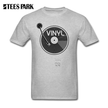 Spinning Vinyl record men's shirt