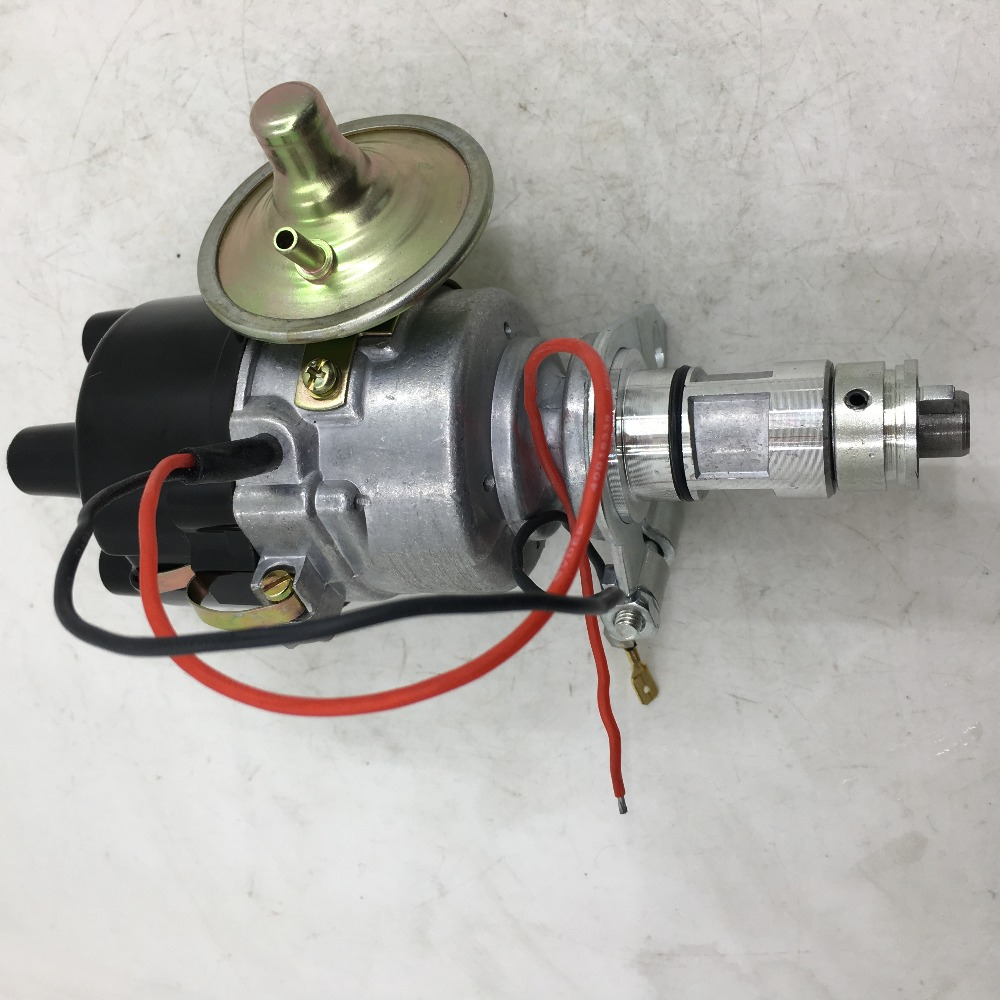 SherryBerg 41630 Electronic Distributor FIT FOR Land Rover Lotus Triumph MG Austin BMC Lucas 25D4, 45D4 4-cylinder Distributor sherryberg distributor 4 cyl electrical distributor for datsun nissan j15 engine forklift 4 cylinders
