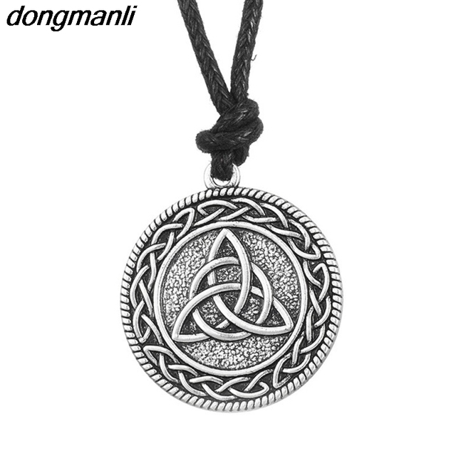 P219 dongmanli Classic Viking Jewelry Mens Irish Celtics Knot