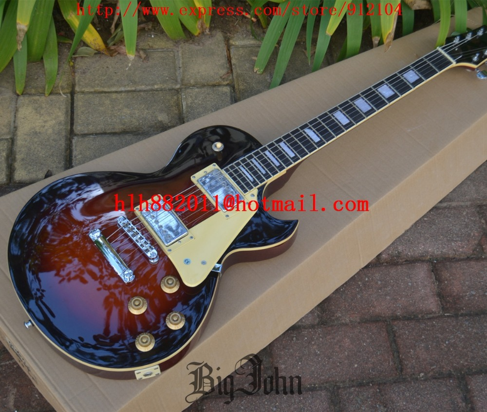 BJ Style Electric Guitar ,VS color with Mahogany Body Guitar Chrome Hardware Rosewood Fingerboard BJ-95BJ Style Electric Guitar ,VS color with Mahogany Body Guitar Chrome Hardware Rosewood Fingerboard BJ-95