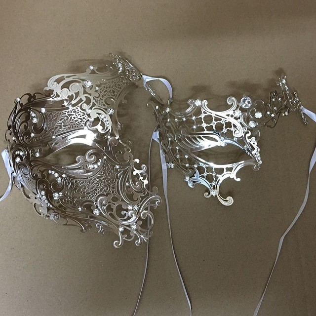 Half Face Couple Masks