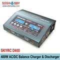 SKYRC D400 Ultimate Duo 400 Вт AC/DC Баланс Зарядное Устройство/Разрядник/Питания Двойной Канал Зарядное Устройство
