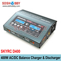 SKYRC D400 Ultimate Duo 400W AC/DC Balance Charger / Discharger / Power Supply Twin-Channel Charger