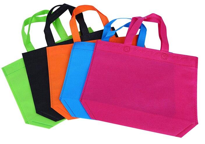 20 шт. нетканые сумки хозяйственные сумки эко рекламных Recyle сумка сумки на заказ сделать логотипом