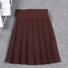 Skirt School-Uniform Jk Pleated-Girl Cosplay Japanese Students Linings Macaron-Colors