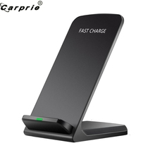 3-Coils Wirelss Charge Qi Fast Charging Stand Dock for Samsung Galaxy Note9 S8 S8 Plus for Samsung Galaxy S7 S7 Edge 90305 cheap CARPRIE None 9V 1 67A RoHS APPLE Wireless Charger Lightweight and handy design Charging distance 5mm Input DC5V 2A DC9V 1 67A