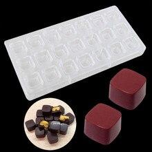 3D Шоколадный Бар плесень Поликарбонат конфеты лоток Жесткий ПК DIY Плесень