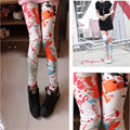 2016 NEW Leggings  Womens Fall Fashion Floral Print Leggings Pants Disco Pants Leging Feminino Ropa Mujer Jeggings 14