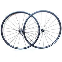 Tubular Bicycle Wheelsets 700C 24mm Rim UD 3K Weave Wheel Sets Carbon Set Road Bike Wheelsets W152423T001