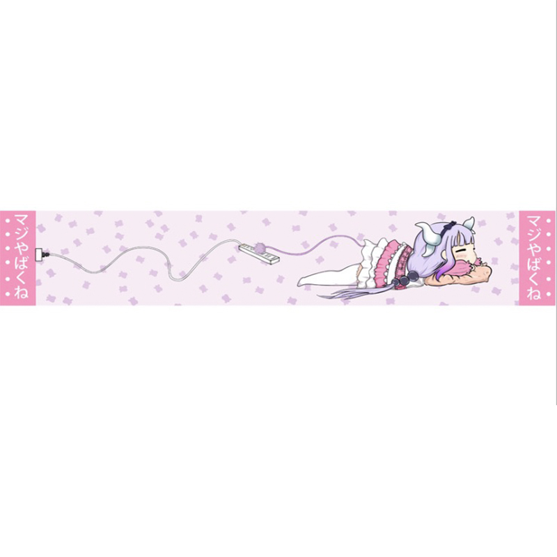 Anime Rozen Maiden Miss Kobayashis Dragon Maid Shugo Chara Cosplay Scarf Kanna Kamui Cosplay Scarf Unisex Warm scarf in Women 39 s Scarves from Apparel Accessories