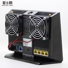 E & M вентилятор охлаждения Радиатор USB Мощность бесшумного рассеивать Контроль температуры для rt-ac68u ex6200 AC15 ac68u маршрутизатор