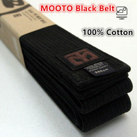 MOOTO High Quality Taekwondo Black Belt WTF ITF 3m Belt Embroidery Name Karate Judo Uniform High
