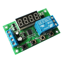 One way relay module / disconnect trigger delay power off cycle timing circuit switch 5/12/24V