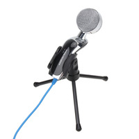 Professional 3 5mm Sound Studio Recording Microphone KTV Computer Capacitance Karaoke Mic Dynamic Voice With Shock