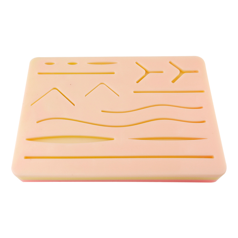 New Skin Suture Model Silicone Skin Anatomy Model With Wound Shape Surgery Practice