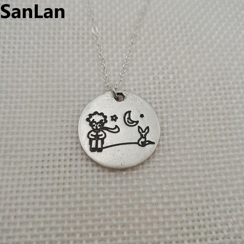 2pcs/lot Little Prince and fox pendant little prince necklacs