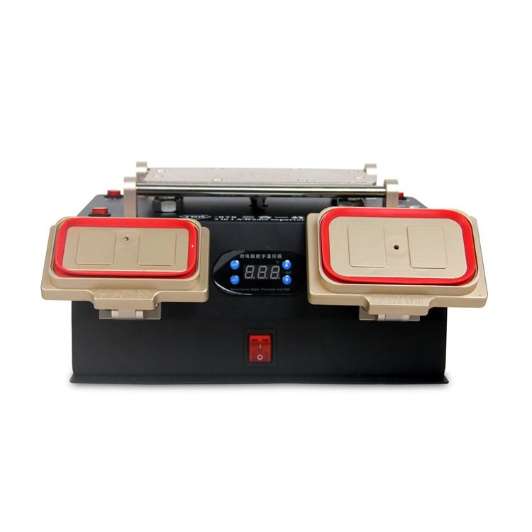 TBK 3 in 1 Multifunction Preheater Station+Middle Bezel Frame Separator Machine+Vacuum Screen Separator Machine утеплитель шумоизоляция капота original part для skoda kodiaq 2017 по н в