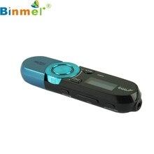 Precio de fábrica Binmer reproductor mp3 usb Mini 8G Pantalla LCD Reproductor de Música Mp3 Radio FM reproductor de mp3 Portátil Envío de La Gota